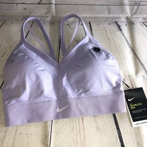 Lilac Nike Sports Bra Size Large